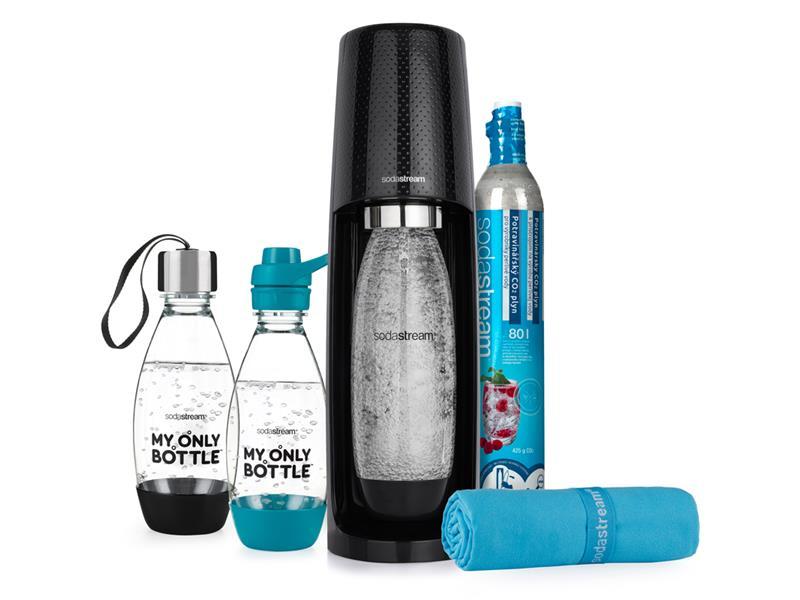 SodaStream sada SPIRIT MESTO & TRÉNING