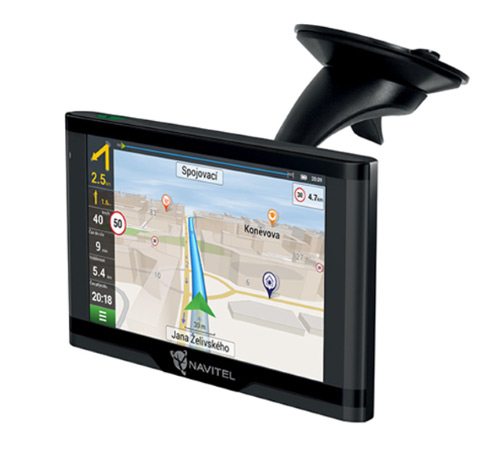 GPS navigácia NAVITEL E500 TMC MAGNETIC