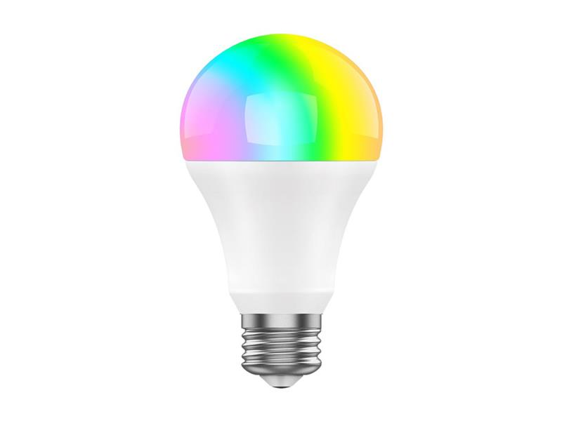 Múdra žiarovka LED E27 8W RGBW iget SECURITY DP23