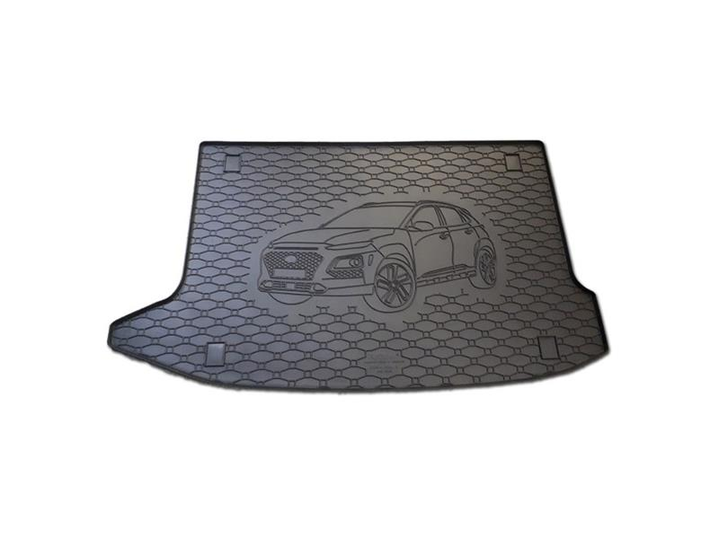 Vaňa do kufra gumová RIGUM Hyundai KONA 2017- hornej kufor