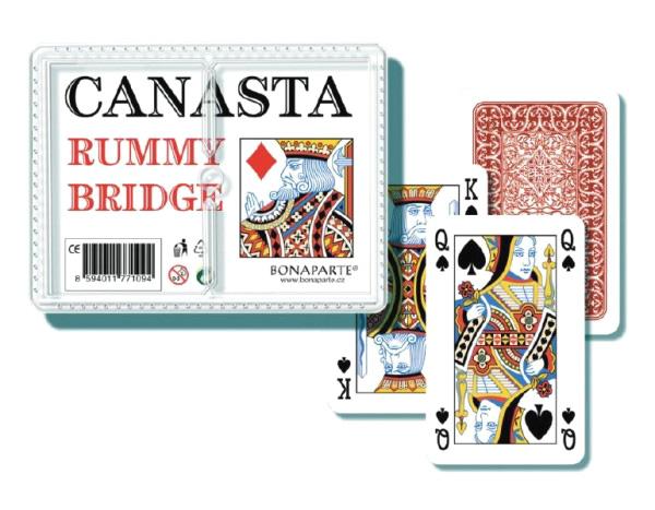 Kartová hra BONAPARTE Canasta