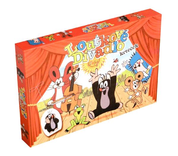 Divadlo BONAPARTE Krtko bábkové papierové