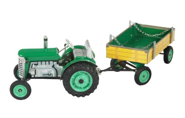 Detský traktor KOVAP ZETOR GREEN 28 cm