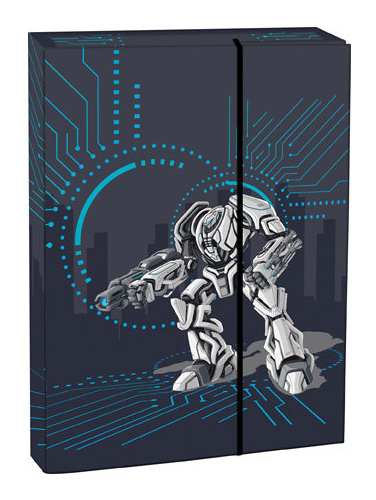 Box na zošity s chlopňou A4 Transformers STIL