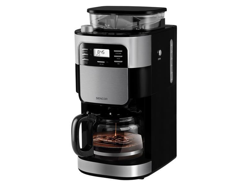 Kávovar SENCOR SCE 7000BK