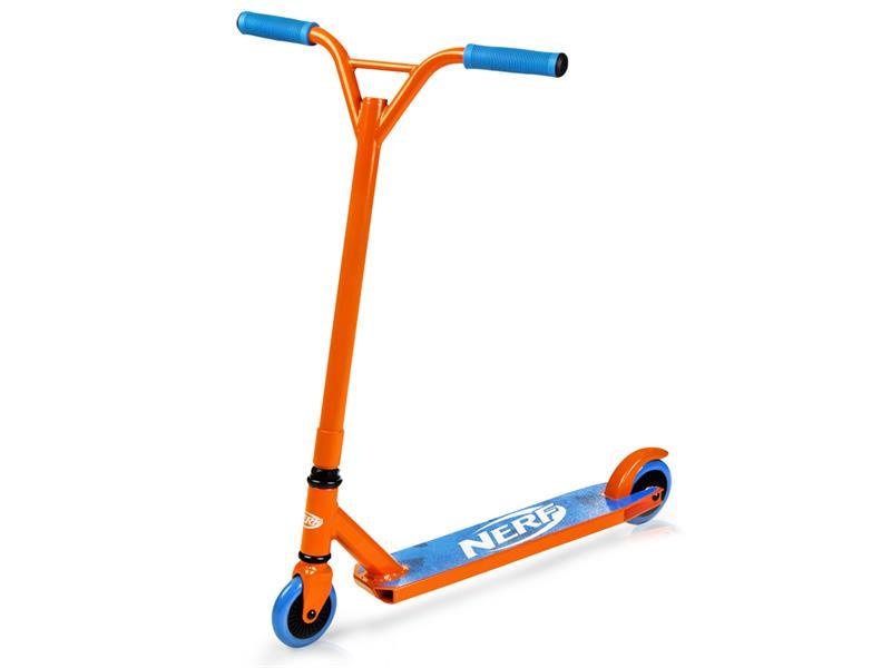 Koloběžka freestyle HASBRO STRIKE NERF oranžovo-modrá
