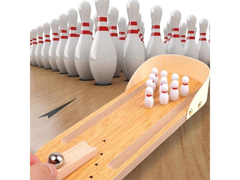 Hra stolný 4L mini bowling