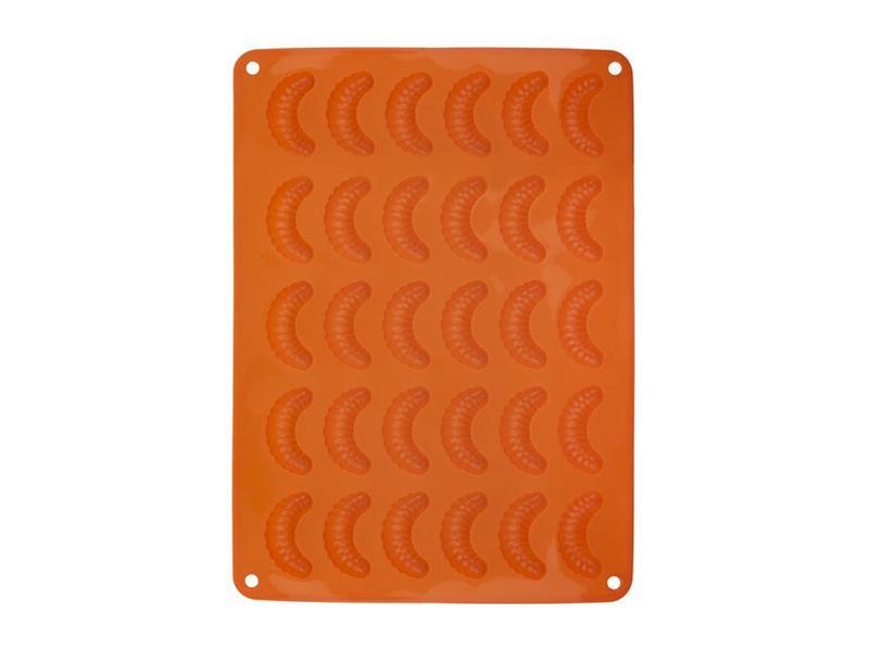 Forma na pečenie ORION Rožtek 30 silikón oranžová