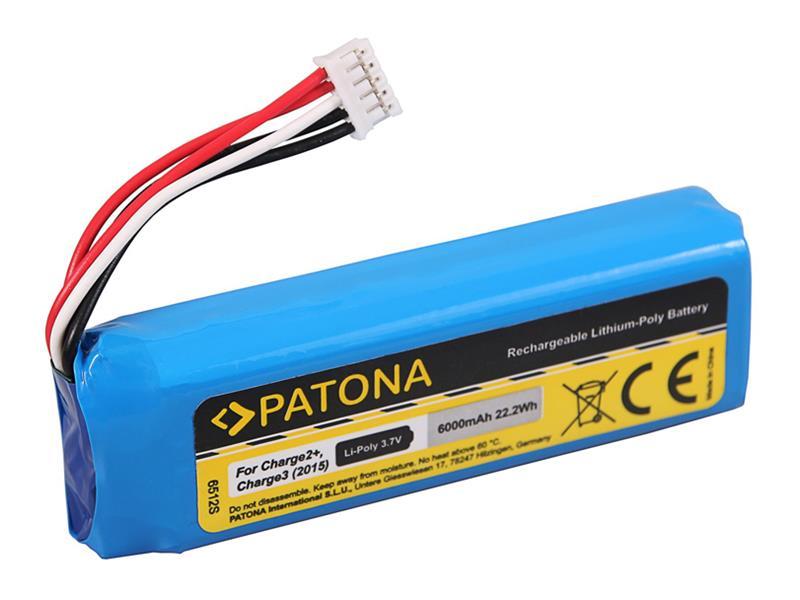 Batérie JBL CHARGE 2+ 6000mAh 3.7V PATONA PT6512