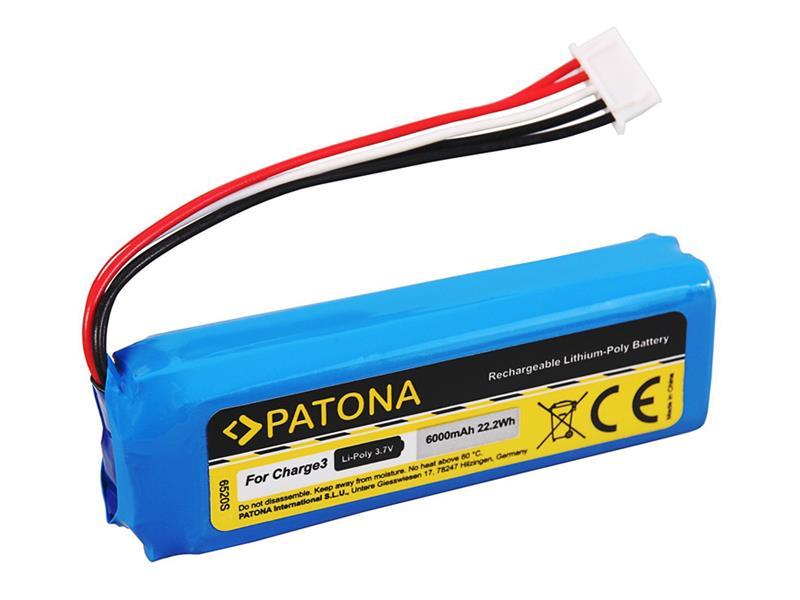 Batérie JBL CHARGE 3 6000mAh 3.7V PATONA PT6520