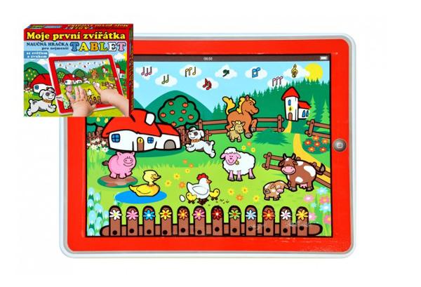 Detský tablet pre najmenších TEDDIES Moje prvé zvieratká