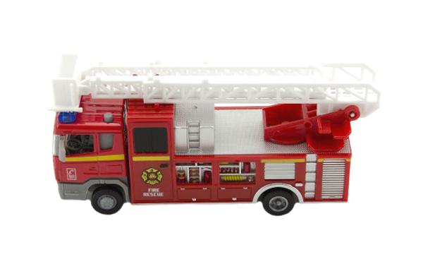Detské hasičské auto TEDDIES so svetlom a zvukom 17 cm