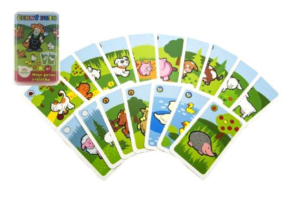 Kartová hra TEDDIES Moje prvé zvieratká Čierny Peter