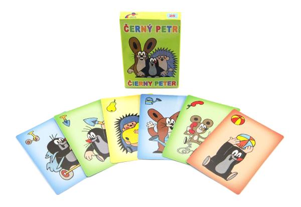 Kartová hra TEDDIES Čierny Peter Krtko 1