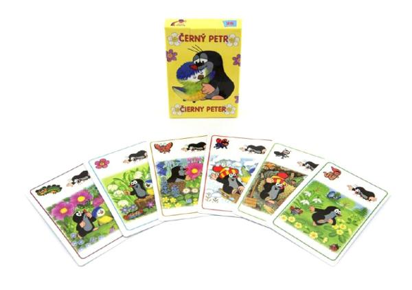 Kartová hra TEDDIES Čierny Peter Krtko a sýkorka