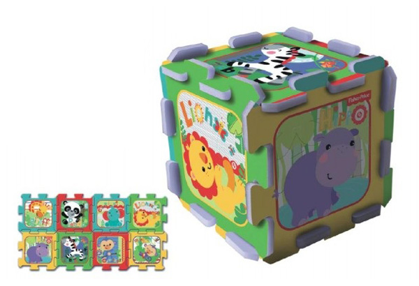 Detské puzzle TREFL Fisher Price penové 8ks