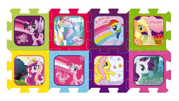 Detské puzzle TREFL My Little Pony penové 8ks