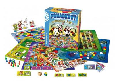 Hra stolný BONAPARTE Rozprávkový súbor 9 hier