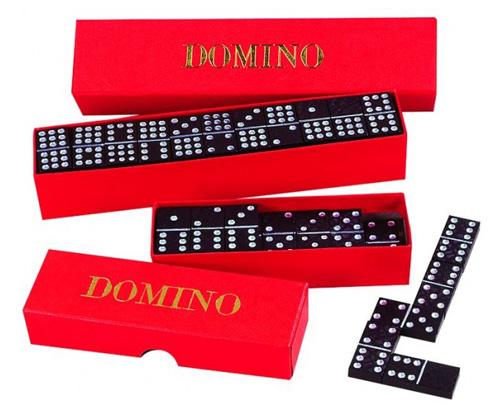 Detské domino DETOA drevené 55ks