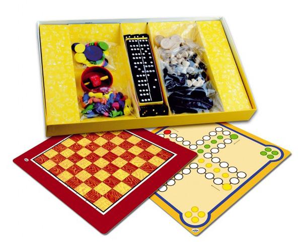Hra stolný DETOA Súbor hier 7