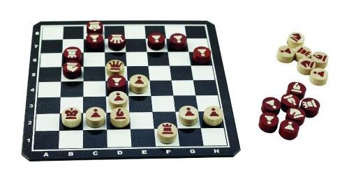 Hra stolný DETOA Šach magnetické drevené