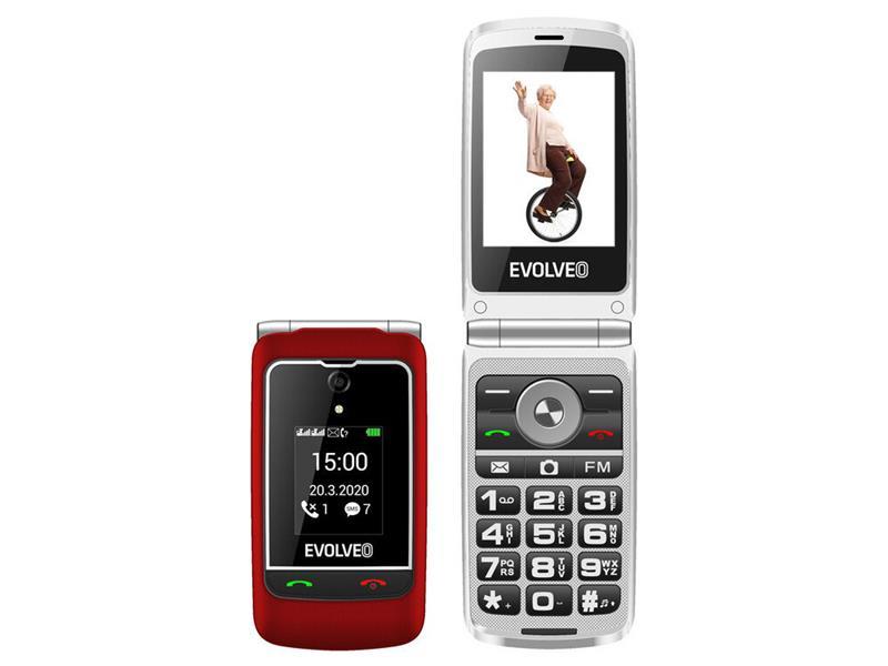 Telefón EVOLVEO EasyPhone EP-750-FGR