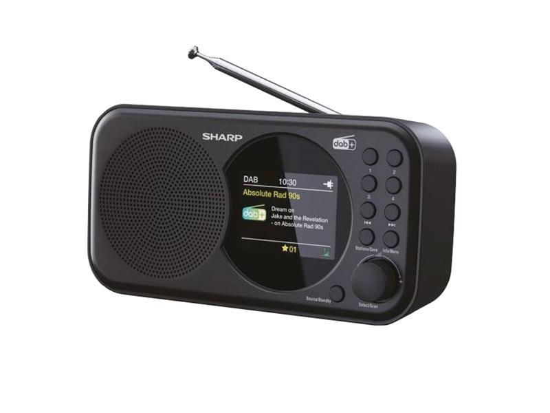 Rádio SHARP DR-P320 BLACK