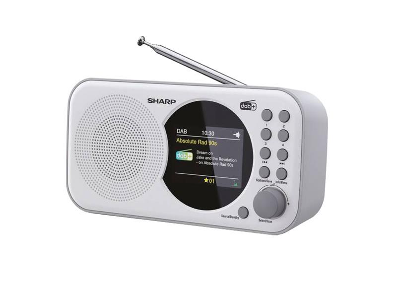 Rádio SHARP DR-P320 WHITE