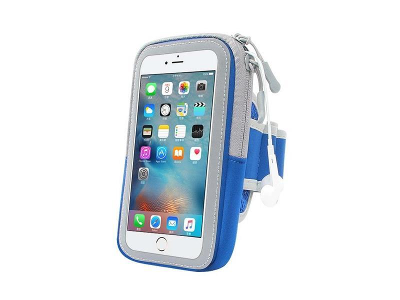 "Puzdro na mobil 6.0"" FOREVER ZIPPER BLUE"