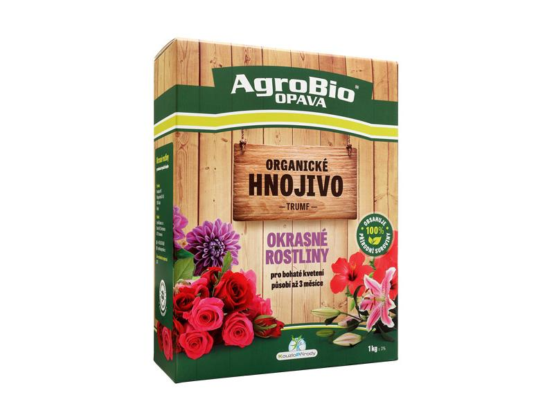 Hnojivo organické AgroBio Tromf Okrasné rastliny 1kg