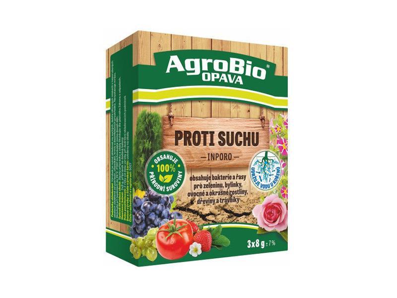 Prípravok proti vysychaniu rastlín AgroBio Inporo 3x8g