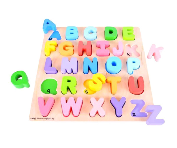 Detská abeceda BIGJIGS TOYS drevená