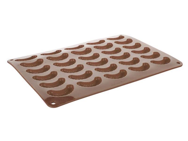 Forma na pečenie BANQUET Culinaria Rohlíčky silikón hnedá