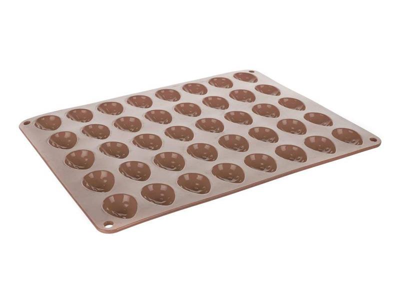 Forma na pečenie BANQUET Culinaria Orechy silikón hnedá