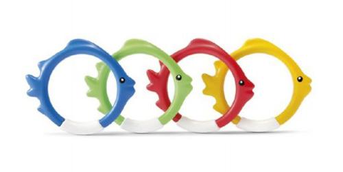 Ryby pre potápanie TEEDIES plast 4ks