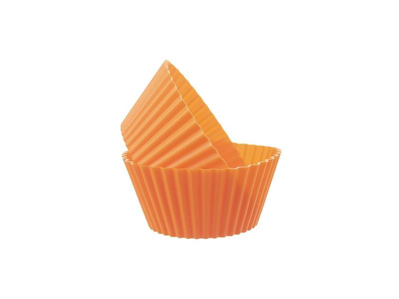 Forma na pečenie ORION Muffiny silikón oranžová 6ks