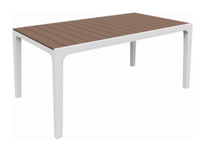 Stôl záhradný KETER Harmony White/Cappuccino
