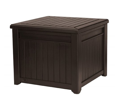 Box záhradný KETER Cube Wood 208l Brown