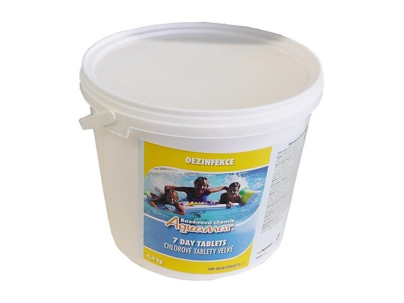 Chlórová dezinfekcia vody MARIMEX 7 Denná tablety 4.6kg 11301204