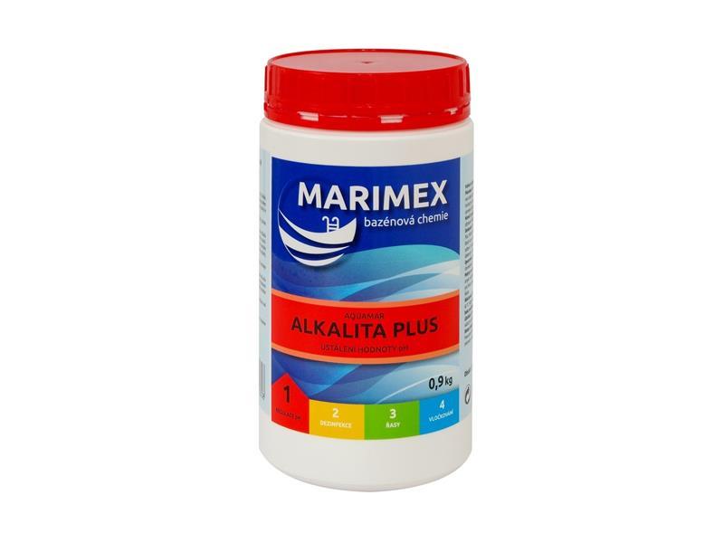 Chémia bazénová MARIMEX AQUAMAR ALKALITA PLUS 0.9 kg 11313112