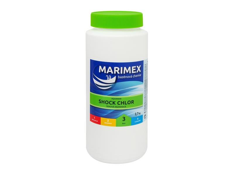 Chémia bazénová MARIMEX AQUAMAR CHLÓR SHOCK 2.7 kg 11301307