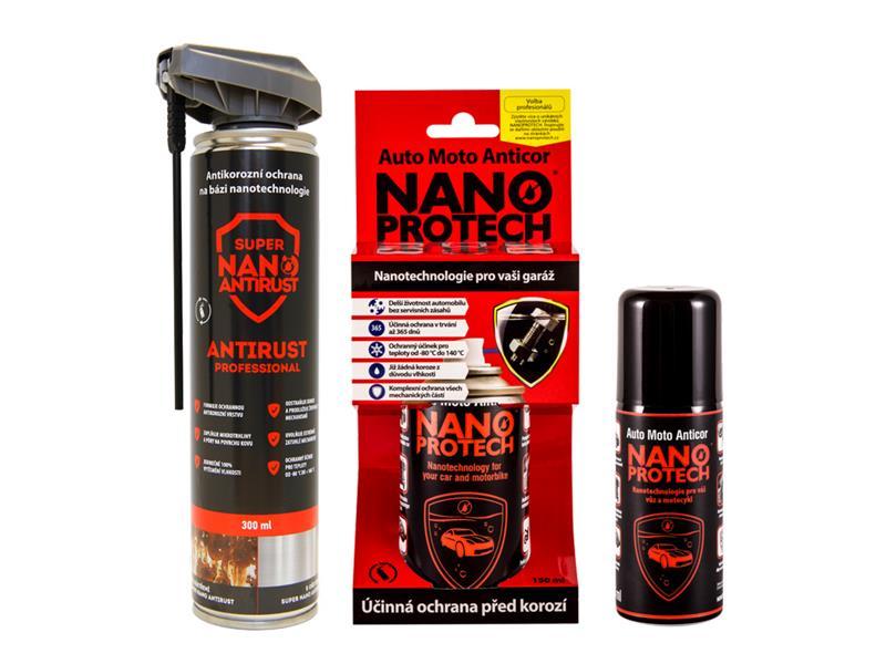 Sprej antikorózny NANOPROTECH AUTO MOTO ANTICOR 75 ml