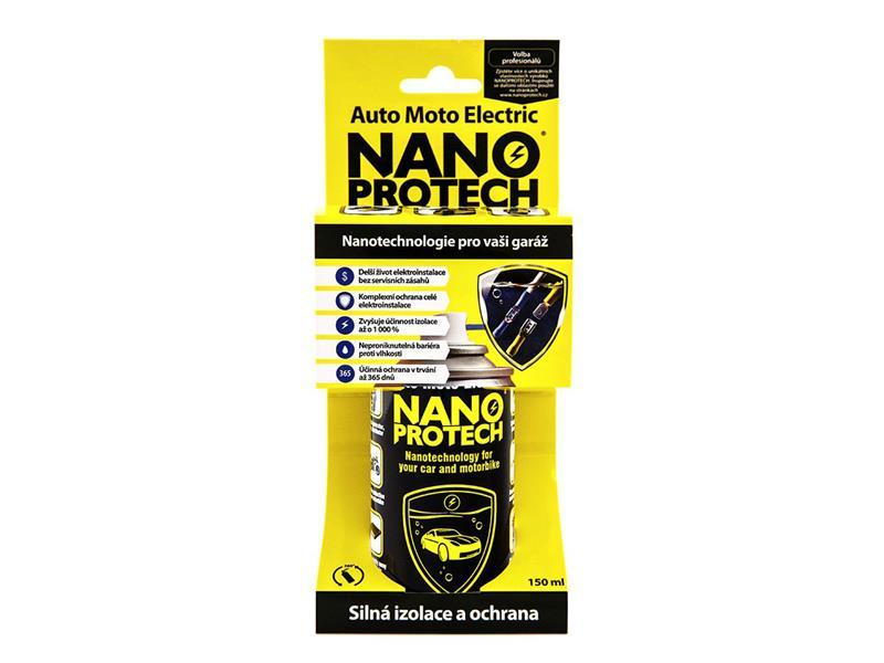Sprej antikorózny NANOPROTECH AUTO MOTO ELECTRIC 150 ml