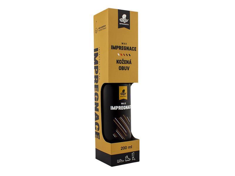 Impregnácia na koženú obuv INPRODUCTS WAX 200 ml