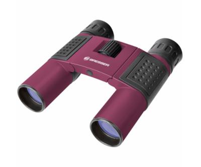Ďalekohľad binokulárne BRESSER TOPAS 10x25 červená