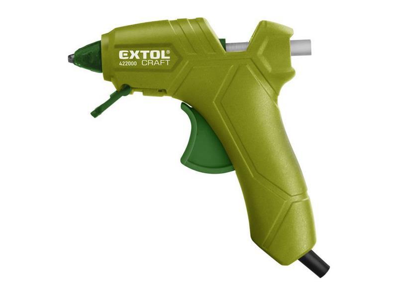Pištoľ tavná lepiaca, Ř7,2mm, 25W, EXTOL CRAFT 422000