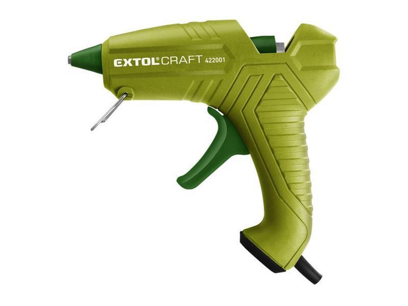 Pištoľ tavná lepiaca, Ř11mm, 40W, EXTOL CRAFT 422001