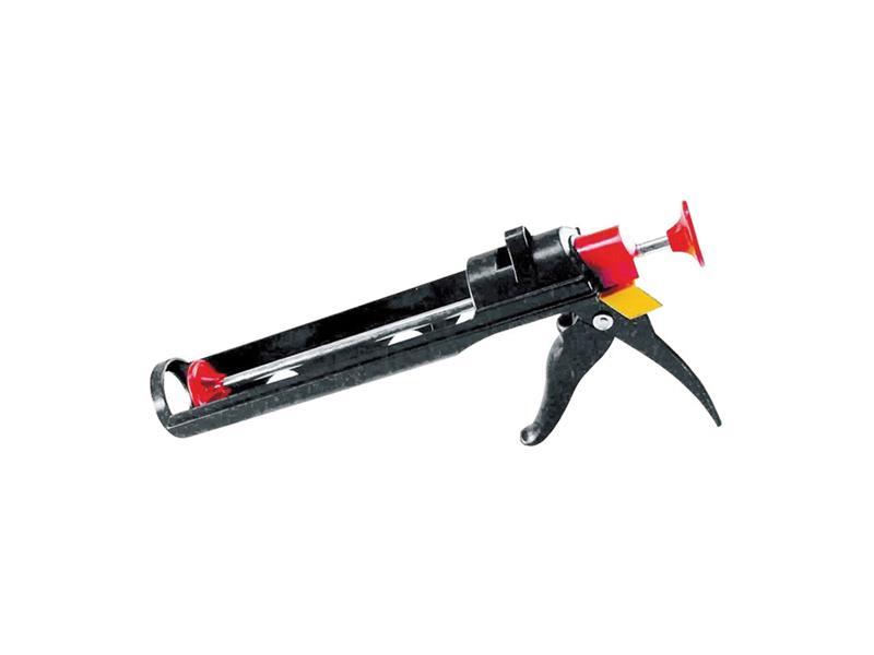 Pištoľ na tmel polozatvorená, hladký piest, plastová, 225mm EXTOL CRAFT