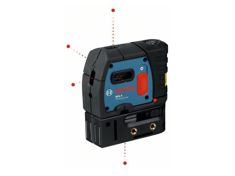 Bodový laser Bosch GPL 5 Professional, 0601066200