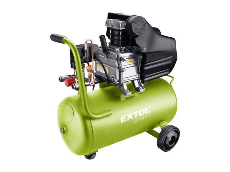 Kompresor olejový, 2800 / min, 24l, EXTOL CRAFT, 418201